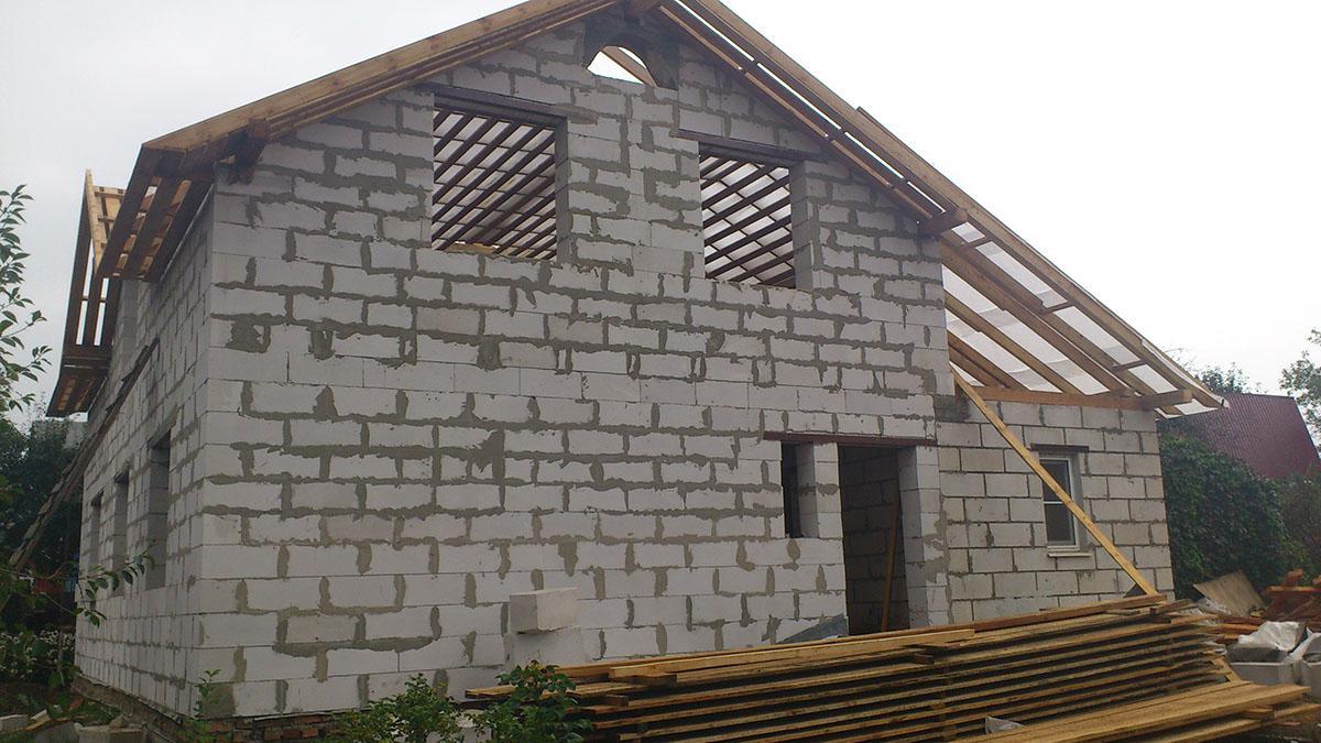 Построить дом своими руками блоки цене
